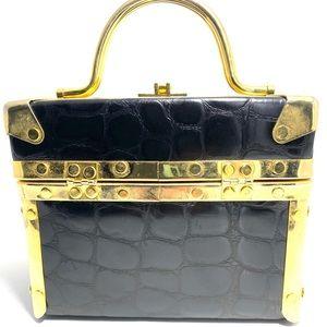 Vintage Comeco box handbag